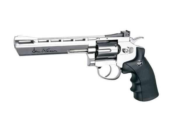 Bilde av Dan Wesson Revolver 6 Sølv - 4.5mm Pellets