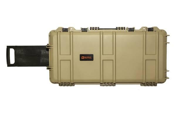 Bilde av Nuprol - Medium Hard Case med Hjul (SMG) - Tan