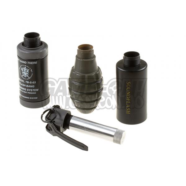Bilde av Thunder B - Sound Grenade Set Pinapple Shell -