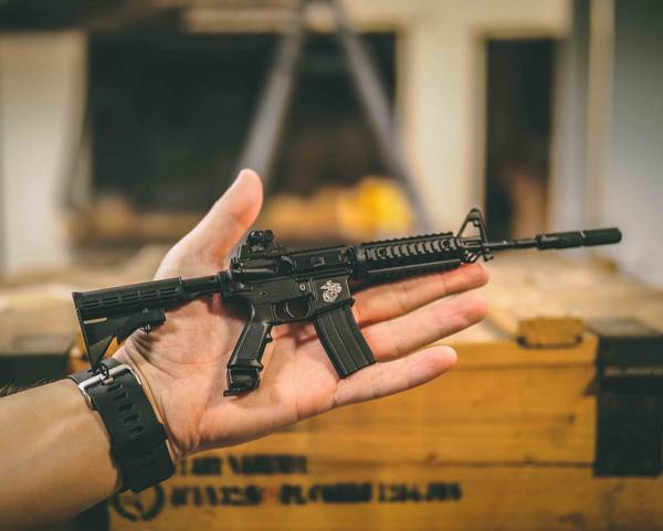 Bilde av Swiss Arms - Mini M4 RIS - Replica Modell
