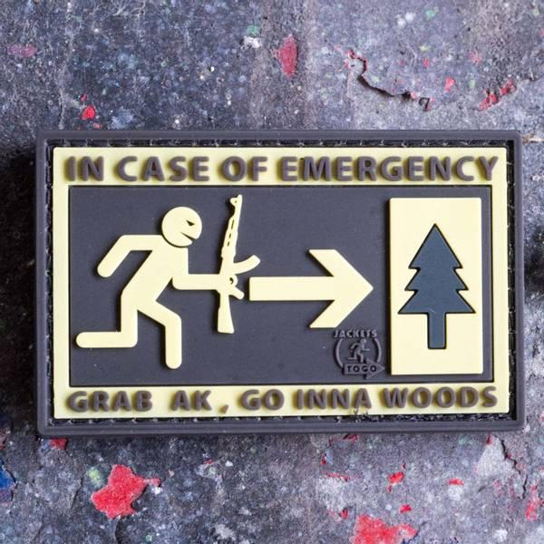 Bilde av Patch - Emergency AK Rubber