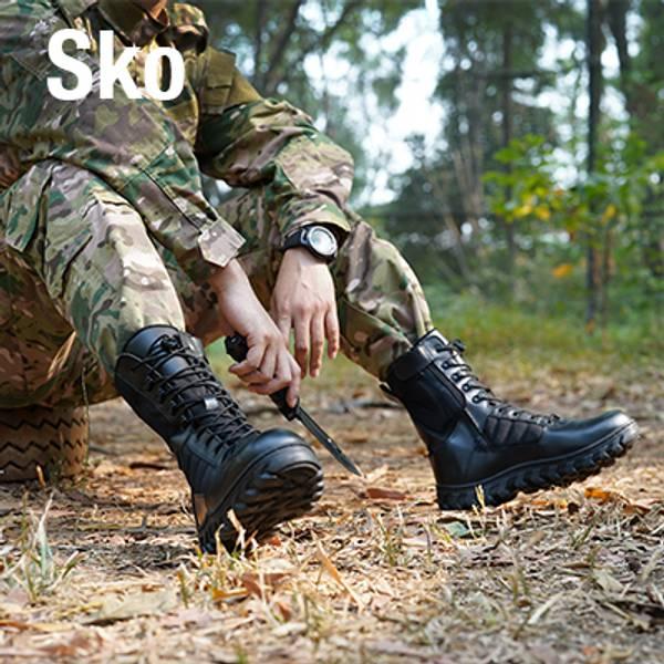 Her finner du vårt utvalg sko til tur, paintball, airsoft og uniformer.